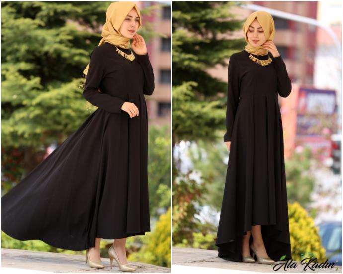 Yazın siyah renk elbiseler giymeyi sever misiniz?