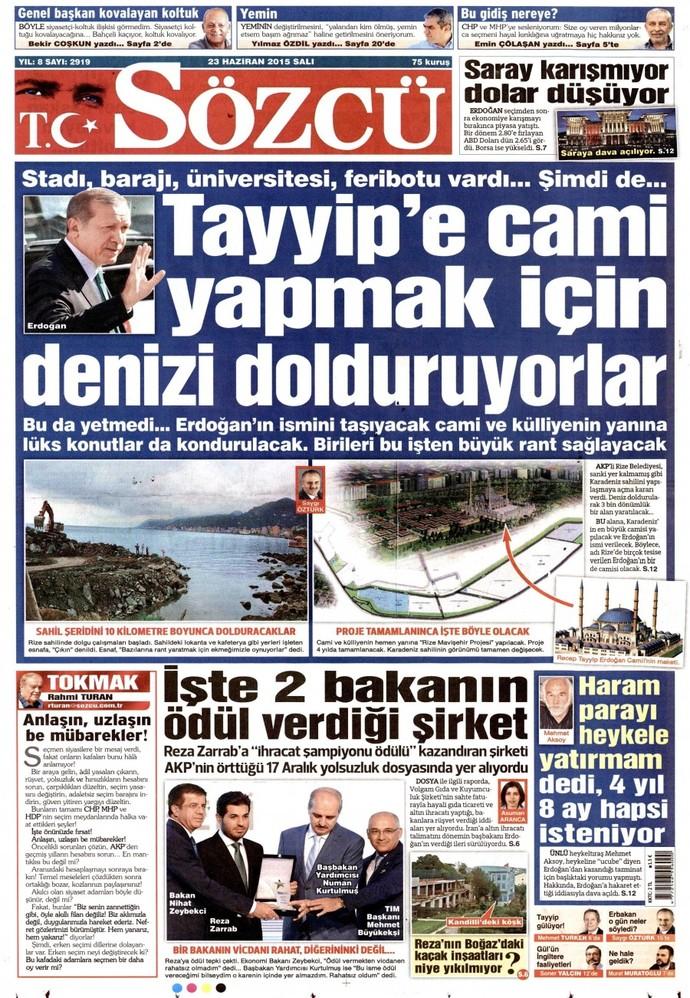 Bugün Dünya Basın Özgürlüğü Günü. Sizce Türkiye'de basın özgür mü?