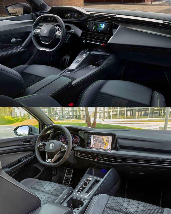 Yeni Peugeot 308, Volkswagen Golfü tahtından edebilir mi? Sence hangisi?