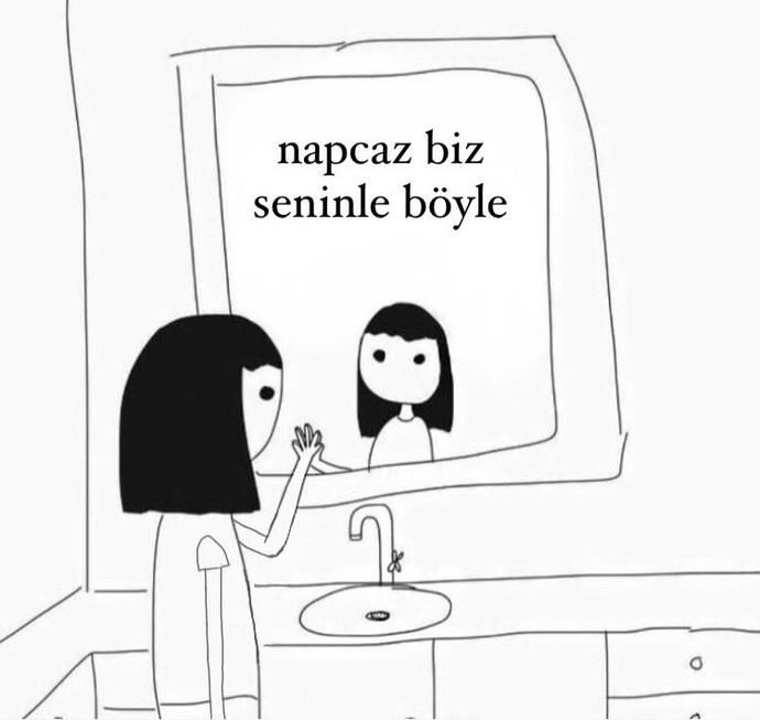 Aynaya bakıp kendinize neler söylüyorsunuz?