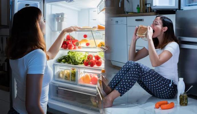 Uyumadan önce atıştıranlardan mı?Yoksa düzenli beslenenlerden misiniz?