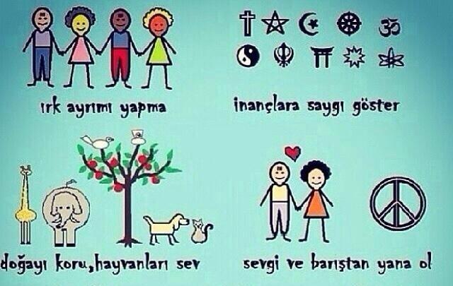 İnsanların dini/siyasi görüşlerine saygılı olmak tabiri sizin için ne anlam ifade ediyor?