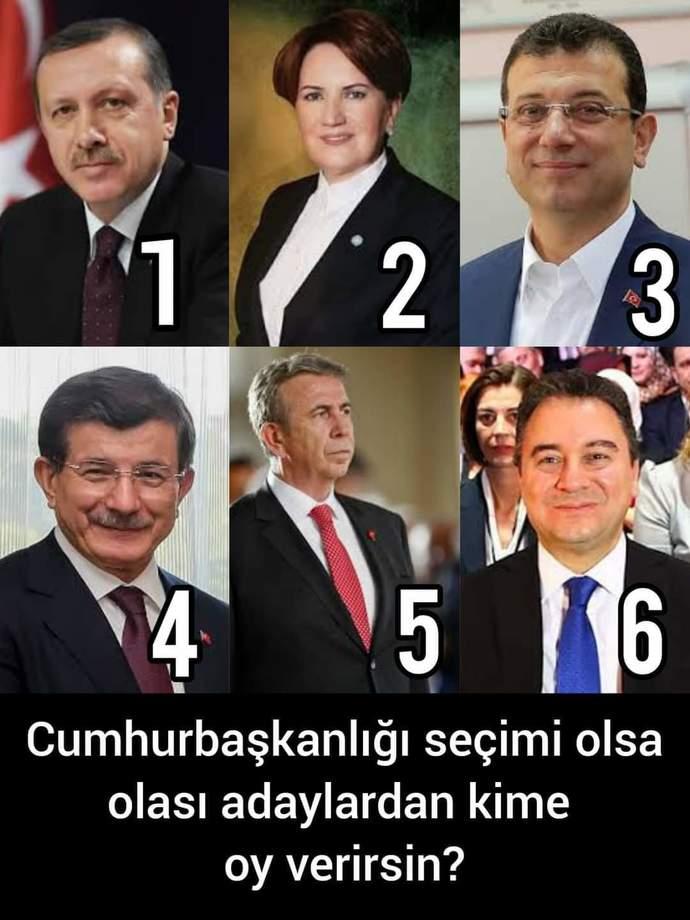Cumhurbaşkanı seçimi olsa kime ve neden oy verirsiniz?
