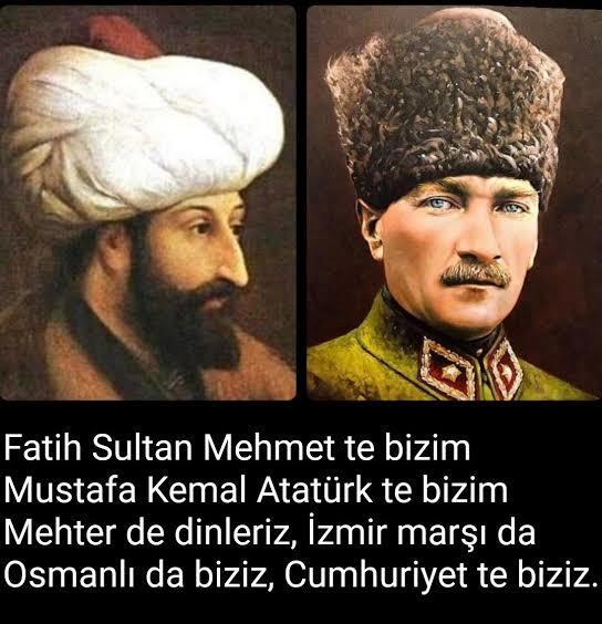 İstanbulun fethinin 568. yıl dönümü kutlamalarında her iki değerin birlikte anılması güzel oldu değilmi?