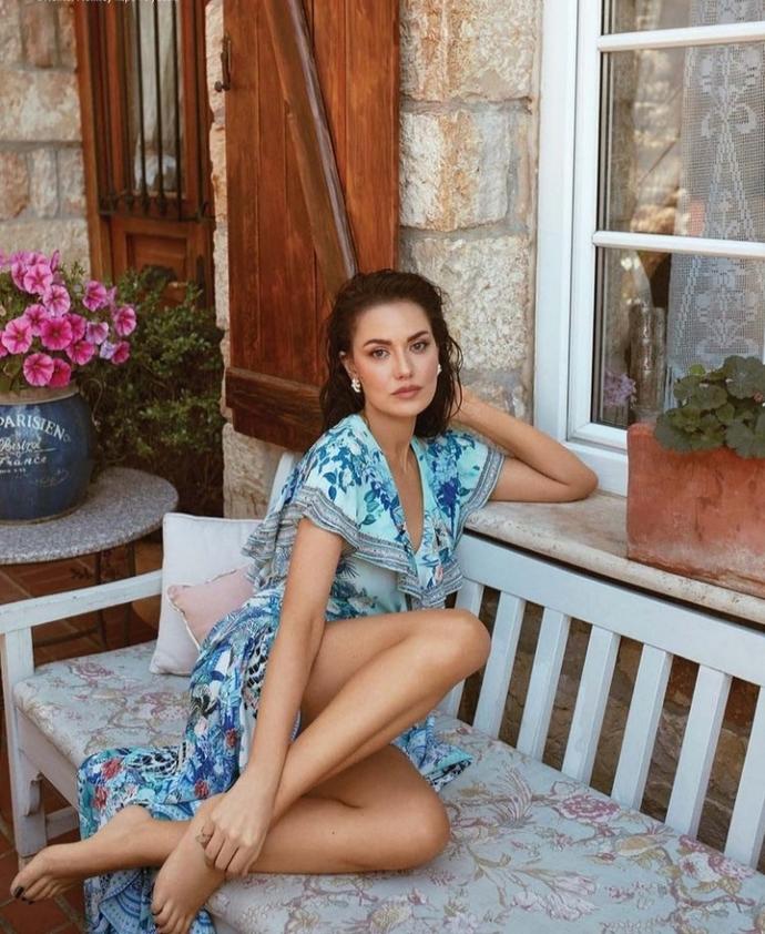 Fahriye Evcen Instyleye poz verdi, Evcen Türkiyenin en güzel kadını mı sizce?