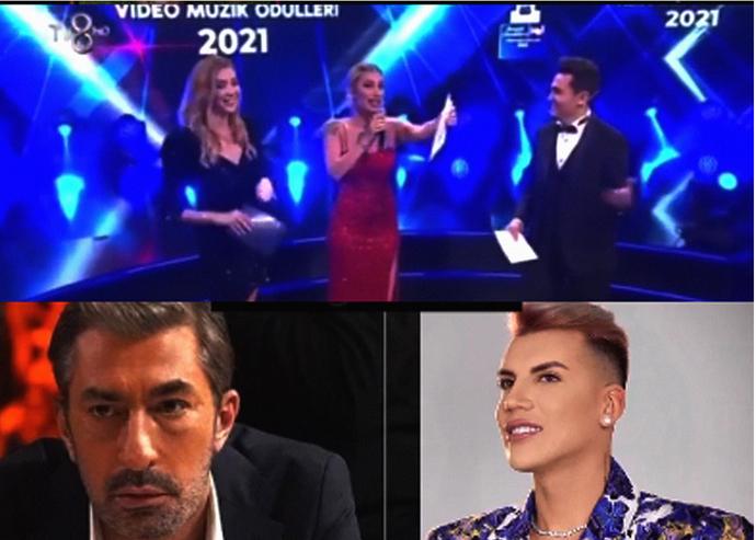 Erkan Petekkaya, TV8deki ödül töreninde Kerimcana ödül veren Acuna o uçaktaki penis sana gelsindedi! Tepkisine ne diyorsunuz?
