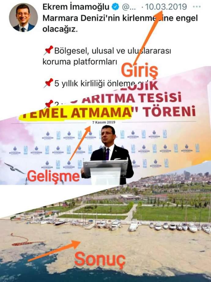 Marmara Denizinde oluşan müsilaj hakkında ne düşünüyorsunuz?
