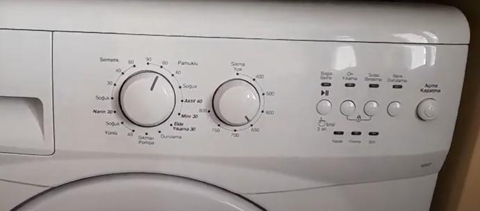 Çamaşır makinasından anlayan var mı, hangi programda yıkamalıyım?