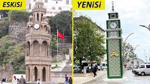 Giresunda Şanlı tarihimizi temsil etmiyor gerekçesiyle tarihi saat kulesi yıkılıp yerine yenisi yapıldı! Karar doğru mu?