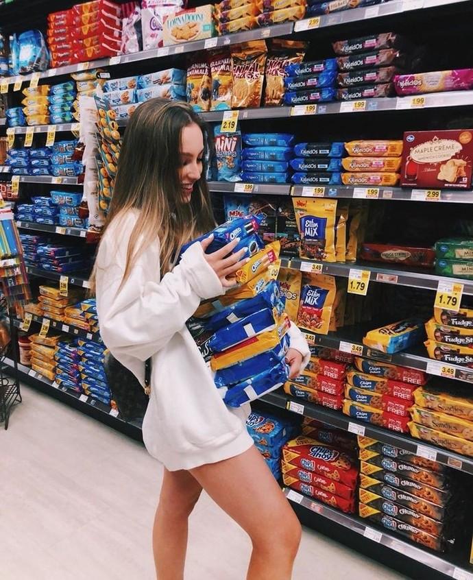 Market alışverişinde keşke eve alıp götürebilsem dediğiniz bir reyon var mı?