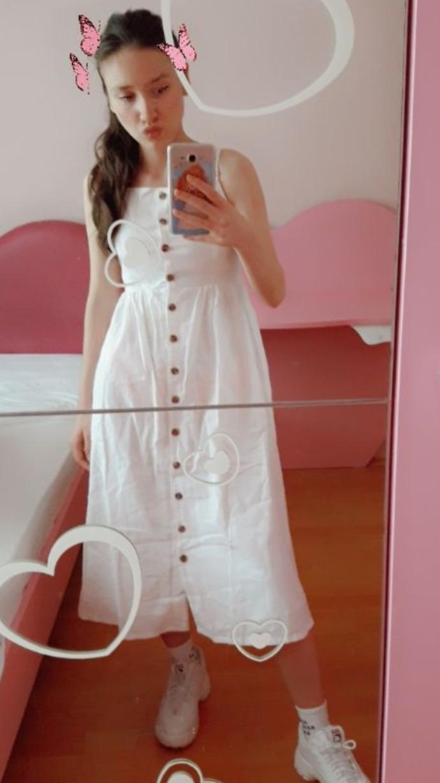 Sizce elbise çokmu uzun s beden xs sıkar mı?