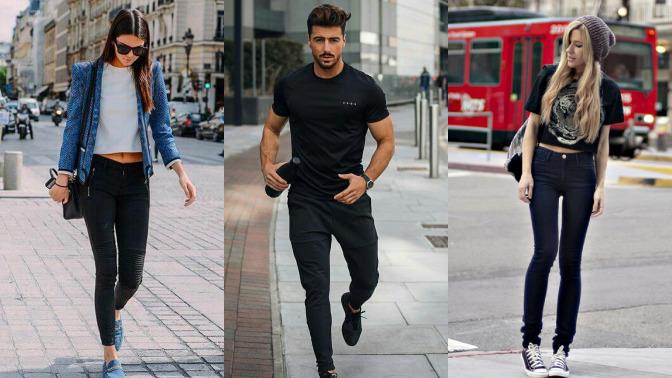 Yazın siyah pantolon giyilir mi?