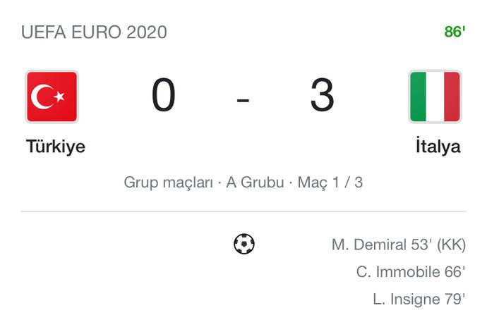 İtalya, Türkiye'yi 3-0 mağlup etti. Sizce nerede hata yaptık?