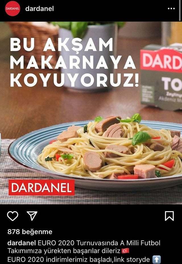 Dardanelin dün akşamki milli maç i̇çin paylaştığı rezilliğe yorumunuz nedir?