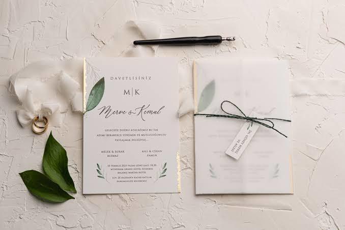 Uzun bir zaman sonra eski sevgilinizden nikah davetiyesi gelseydi ne yapardınız?