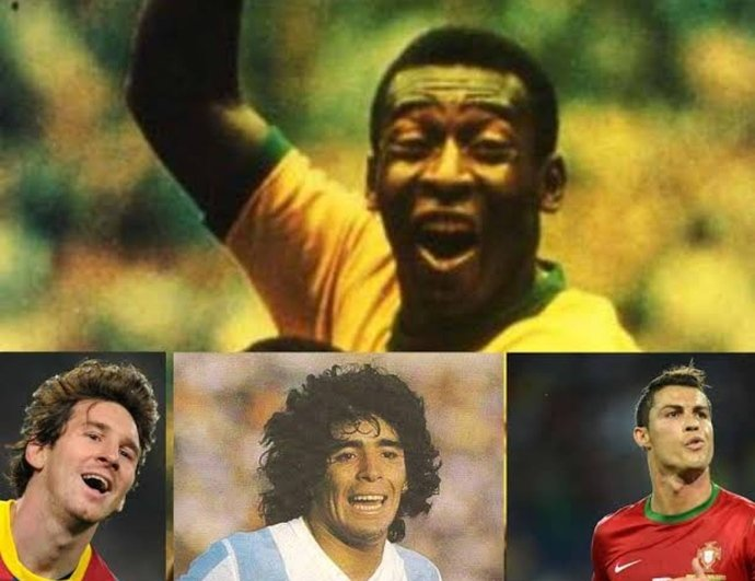 Dünyanın gelmiş geçmiş en iyi 5 futbolcusu kim?