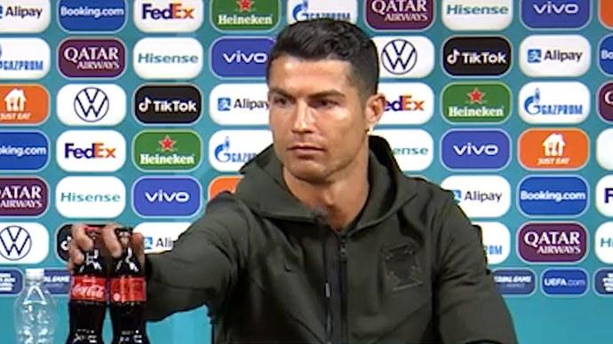 Ronaldoyu dinleyip cola yerine su içer misiniz?