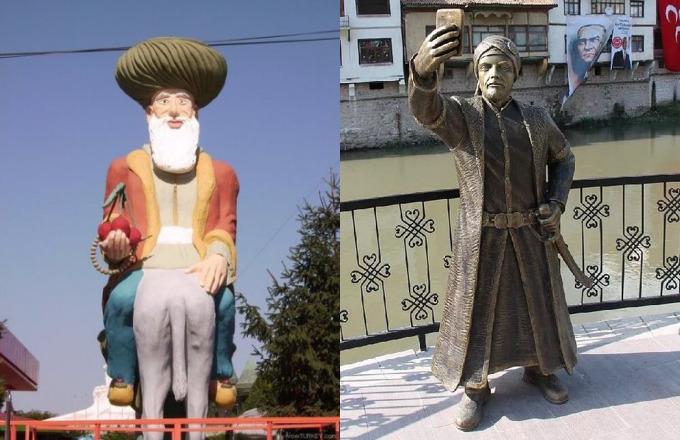 Türkiyenin en garip heykeli hangisi?