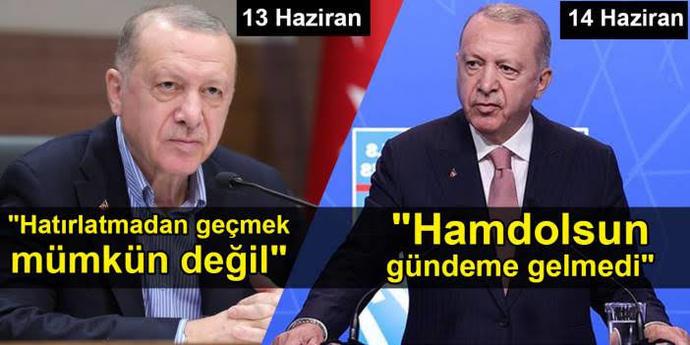 Başkan Erdoğan, Joe Bidena sözde soykırım konusunu neden açmadı?