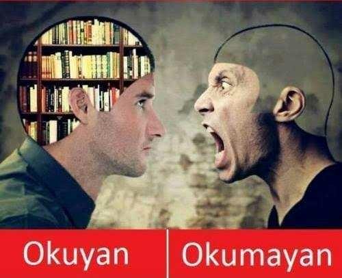 Kitap okumayan kişilere karşı bakış açınız hangi yönde?