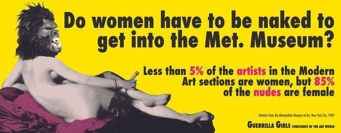 Kadınların sanat dünyasına girmeleri için soyunmaları mı gerekir?