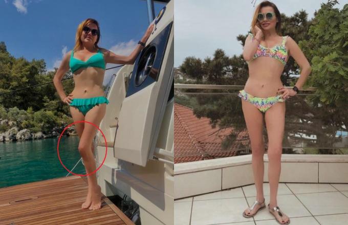 Deniz Sekinin bikinili fotoğrafı sosyal medyayı ikiye böldü! Sizce bu fotoğraflarda photoshop var mı?