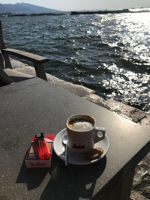 Kahve kokusuna bile AȘK yaşanır...