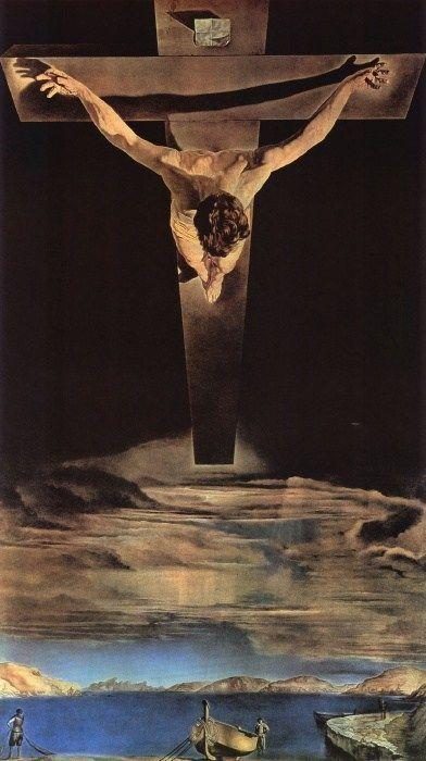Christ of Saint John of the Cross / Salvador Dali