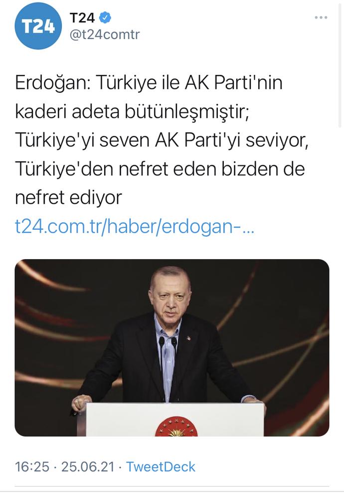 Ülkemi sevmem için Erdoğan'a sevmek zorundamıyım?