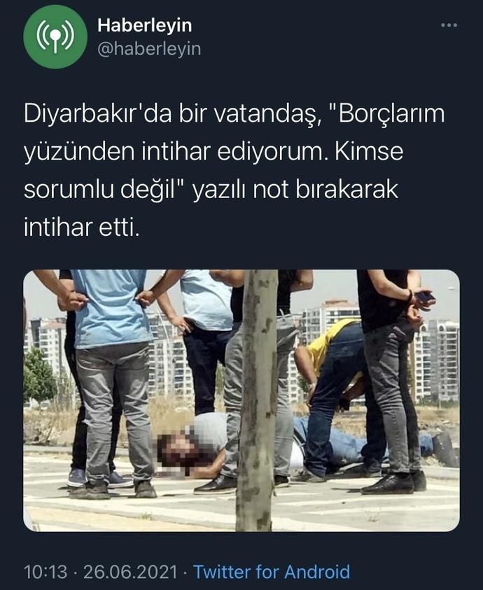 Türkiye'de Son Zamanlarda Artan Bu Olaylar İçin Ne Düşünüyorsunu?