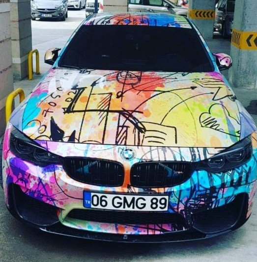 Bu araba sadece bir ressama ait olabilir mi?