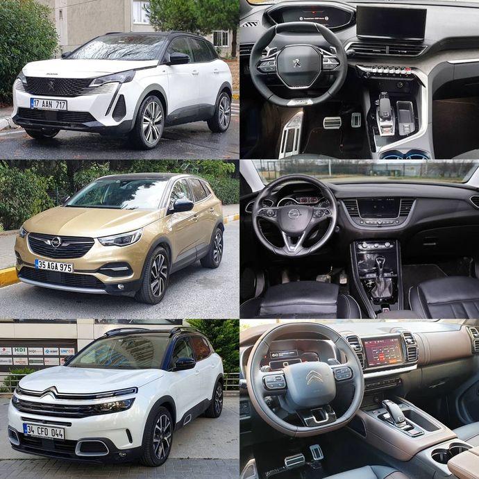 PSA Grubunun SUV modellerinden hangisini seçersin?