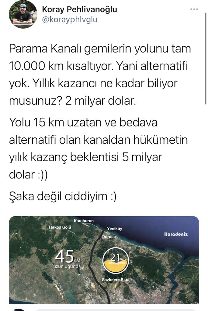 Kanal İstanbul'un kar getireceğine inan var mı?