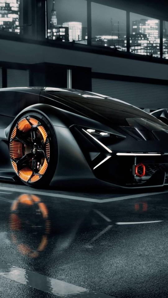 Bu araba süper kahraman arabası olabilir mi?