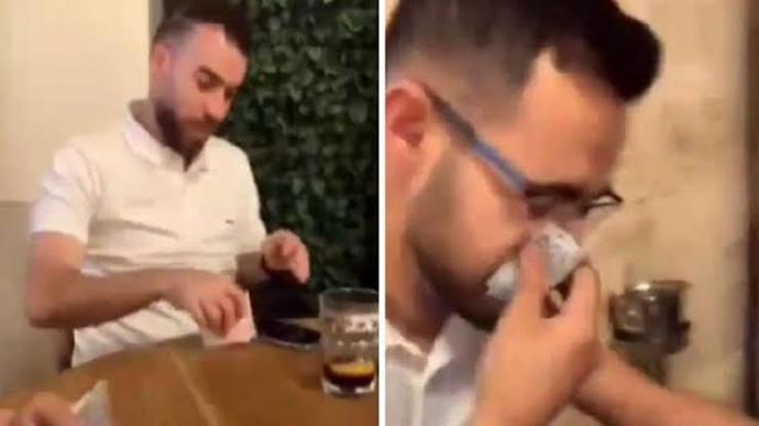 Türk parasıyla burnunu silen İsrailli turist göz altına alındı düşünceleriniz neler?