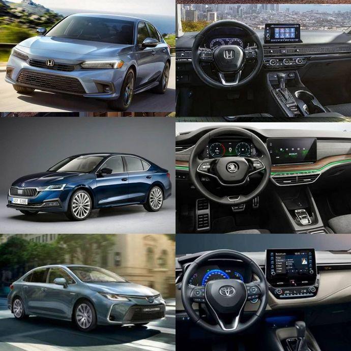 Honda Civic mi, Skoda Octavia mı yoksa Toyota Corolla mı?