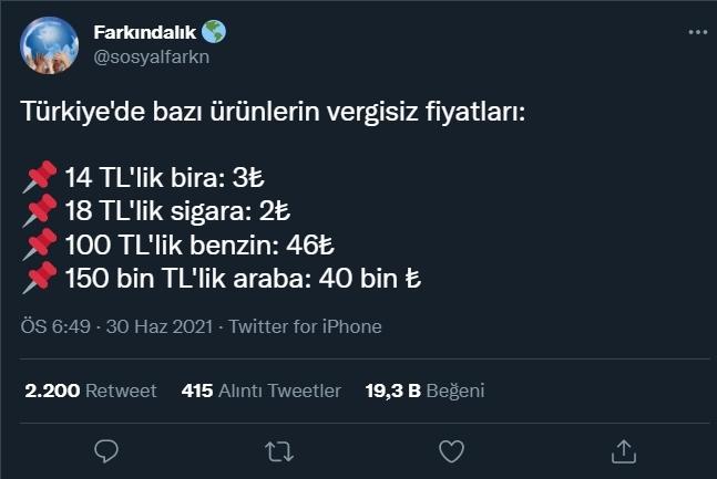150 bin TLlik arabanın vergisiz fiyatı 40 bin! Türkiyede araba almak hayal mi?