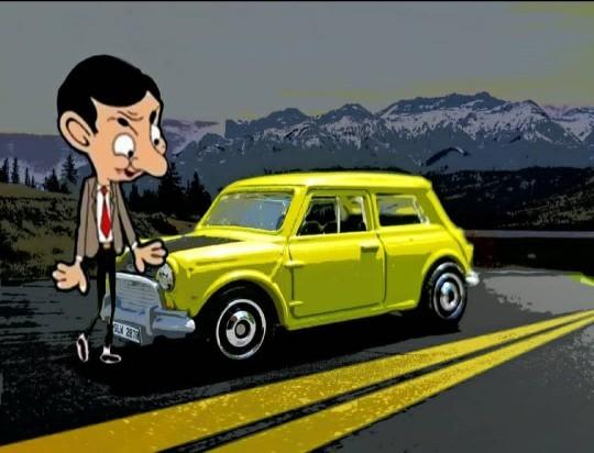 Mr Beannin arabası fıstık gibi değil mi ya?