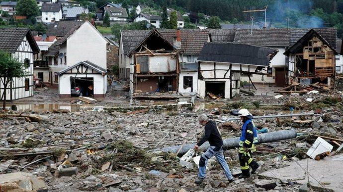 16 temmuz 2021 Almanyada selden 80 kişinin ölmesi?