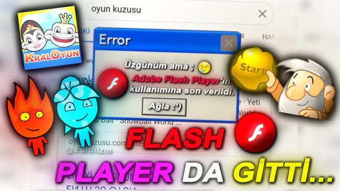 Adobe Flasher gittiğinden beri oyunlar eski tadını veriyor mu🥺?