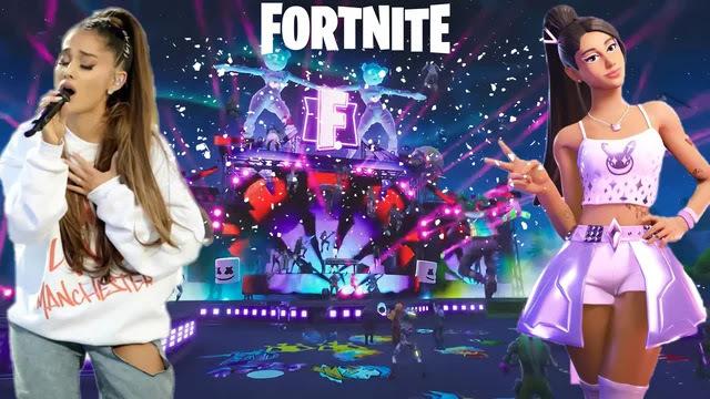 Fortnite oyuna etkileşim kazandırmak için Ariana Grande ve Lady Gagayı getiriyor! Siz kim gelsin isterdiniz?