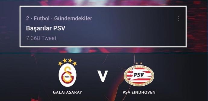 Twitterda Başarılar PSV kavgası! Bazı Beşiktaş ve Fenerbahçe taraftarları, Twitterda PSVyi destekliyor, ne düşünüyorsunuz?