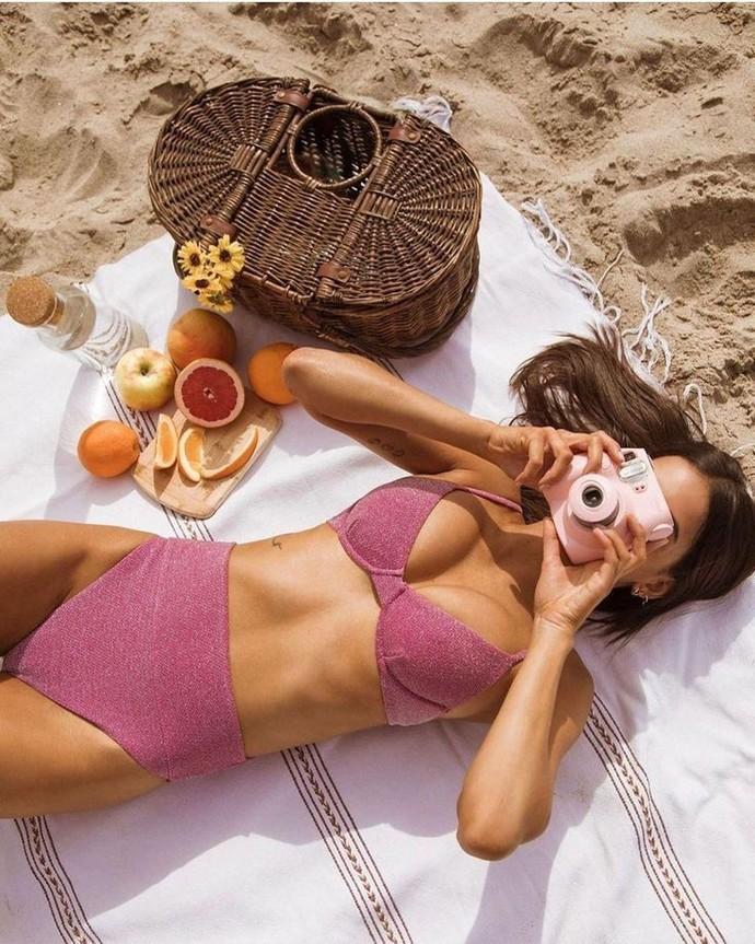 Yüksek bel bikini seviyor musunuz?