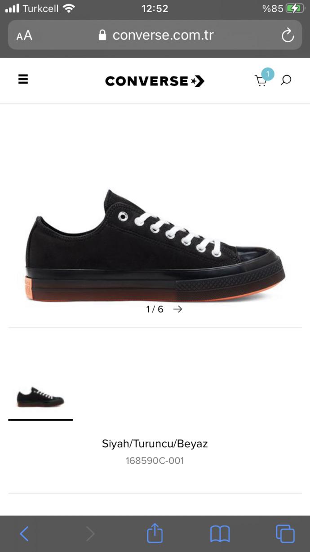 Converse , ayakkabılar nasıl para verilirmi?