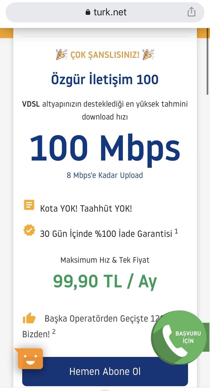 Türkiyede 100tlye bundan hızlısını bulabilir miyim?