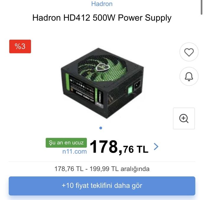 Bu güç kaynağını 30 tlye aldım sizce oyun bilgisayarı için kötü mü?