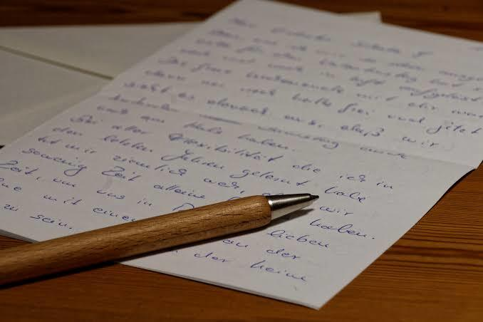 Şimdiye kadar hiç aşk mektubu yazdınız veya aldınız mı?