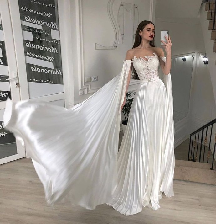 Nikâh için bu elbise uygun mu?