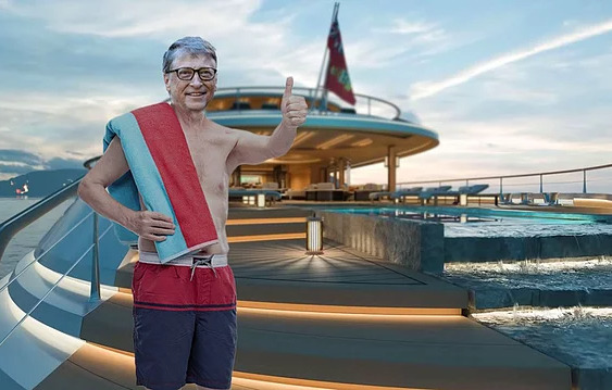 Bill Gates Bodrum