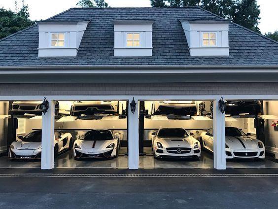 Hayalinizdeki araba garajı nasıl?